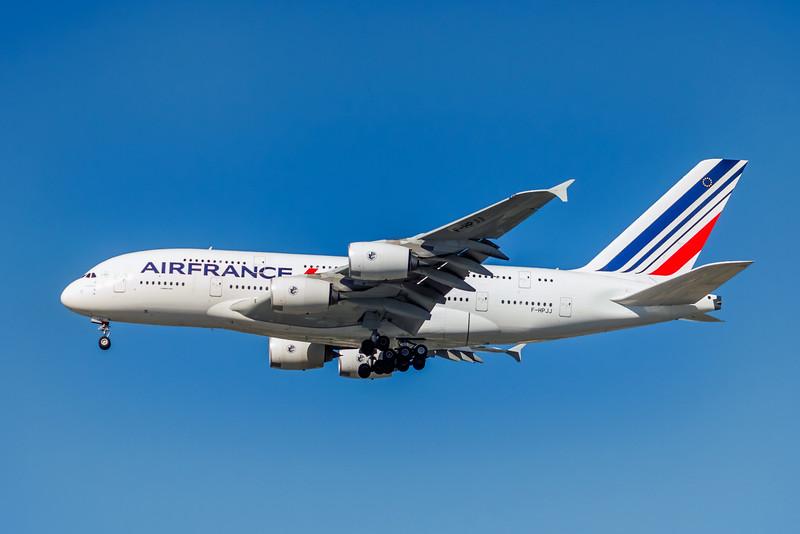 Air France, F-HPJJ, Airbus A380-861, msn 117, John A MIiller, LAX, XA004LAJM