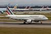 Air France, F-GRHV, Airbus A319-111, msn 1505, Photo by John A Miller, LHR, Image AB076RGJM