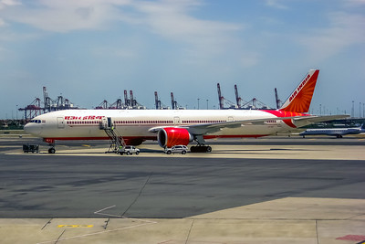 Air India, VT-ALT, Boeing 777-337(ER), msn 36318, Photo by John A Miller, EWR, Image PP011LGJM
