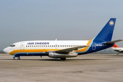 Time Air Sweden, SE-DLP, Boeing 737-205(ADV), msn 19409, Photo by Doug Corrigan, Image J126LGDC