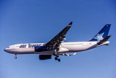 Air Transat, C-GPTS, Airbus A330-243, msn 480, Photo by David Birtwell, Image WA009LADB