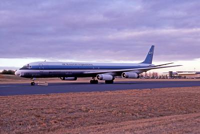 Air Transport International, N788AL, Douglas DC-8-63(F), msn 45999, GSO, Photo by John A. Miller, Image B018LGJM