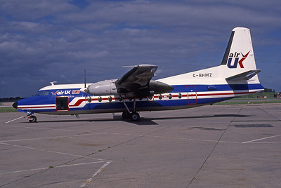 Air UK, G-BHMZ, Fokker F-27-200 Friendship, msn 10244, Photo by Photo Enrichments Collection, Image E008LGJC