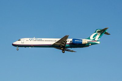 Airtran Airways, N937AT, Boeing 717-231, msn 55091, Photo by John A Miller, TPA, Image ZZ019LAJM