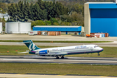 Airtran Airways, N951AT, Boeing 717-2BD, msn 55013, Photo by John A Miller, TPA, Image ZZ020RGJM