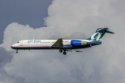 AirTran Airways, N926AT, Boeing 717-231, msn 55078, Photo by John A Miller, TPA, Image ZZ011LAJM