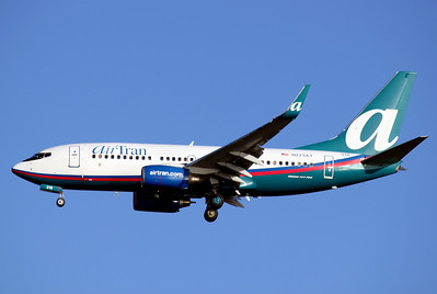 Airtran Airlines, N273AT, Boeing 737-76N, msn 32662, TPA, Photo by John A. Miller, Image: TT005LAJM