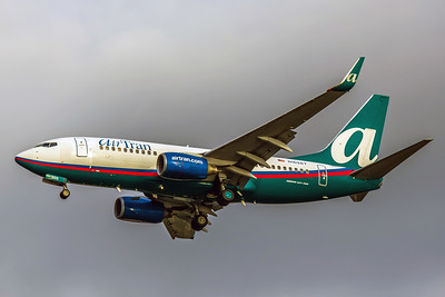 AirTran AIrways, N169AT, Boeing 737-76N, msn 32744, Photo by John A Miller, TPA, Image TT027LAJM