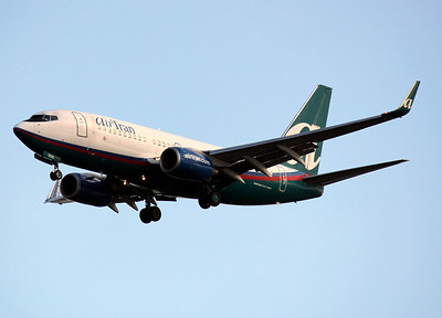 AirTran, N126AT, Boeing 737-76N, msn 32679, TPA, Photo by John A. Miller, Image: TT017LAJM