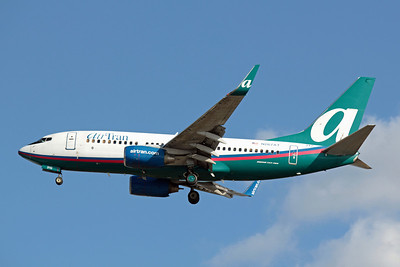 Airtran Airways, N267AT, Boeing 737-7BD(WL), msn 33919, Photo by John A. Miller, TPA, Image TT048LAJM