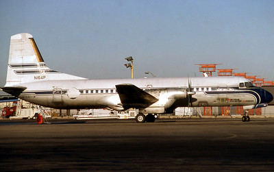 Airborne Express, N164P, NAMC YS-11, msn 2053, Photo by Photo Enrichments Collection,  Image Y008RGJC