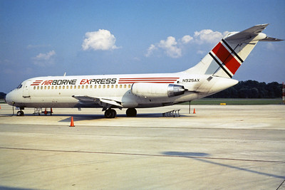 Airborne Express, N925AX, Douglas DC-9-14, msn 45728, Photo by John A. Miller, GSO, Image C043LGJM