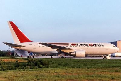 Airborne Express, N767AX, Boeing 767-AX, msn 22785, Photo by John A Miller, GSO, Image P025RGJM