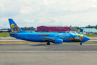 Alaska Airlines, N791AS, Boeing 737-490, msn 28886, Photo by John A Miller, ANC, Image L014RGJM