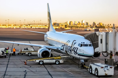 Alaska Airlines, N612AS, Boeing 737-790(WL), msn 30162, Photo by John A Miller, PHX, Image TT136RGJM