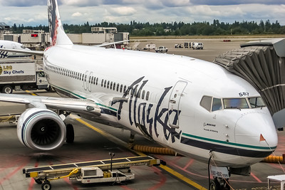 Alaska Airlines, N587AS, Boeing 737-890(WL), msn 35684, Photo by John A Miller, SEA, Image UU074RGJM