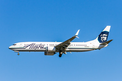 Alaska Airlines, N459AS, Boeing 737-990(ER)(SS), msn 36352, Photo by John A Miller, LAX, Image UA023LAJM