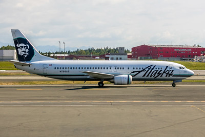Alaska Airlines, N788AS, Boeing 737-490, msn 28885, Photo by John A. Miller, ANC, Image L012RGJM