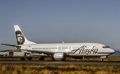 Alaska Airlines, N755AS, Boeing 737-4Q8,msn 25096,Photo by Bjoern Kannengiesser, Image L005RGBK