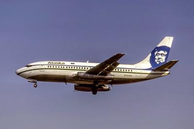 Alaska Airlines, N744AS, Boeing 737-210C(A), msn 21822, Photo by Thomas Livesay, Image J172LATL