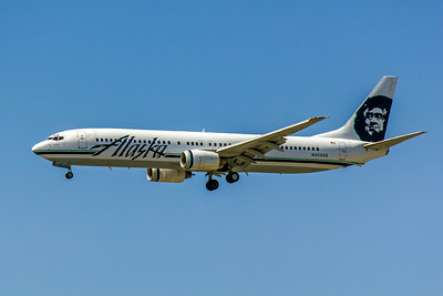 Alaska Airlines, N305AS, Boeing 737-990, msn 30013, Photo by  John A Miller, LAX, Image UA008LAJM