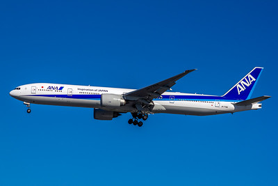 All Nippon Airways, JA779A, Boeing 777-381(ER), msn 34894, Photo by John A Miller, LAX, Image PP030LAJM