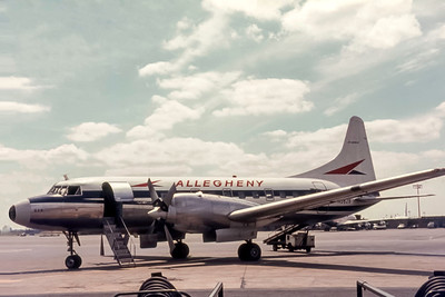 Allegheny Airlines, N5828, Convair CV440-32, msn 375, Photo by Photo Enrichments Collection, Image CV036LGSP