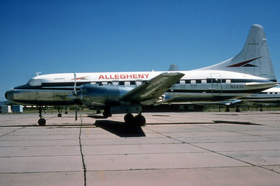 Allegheny Airlines, N5836, Convair CV580, msn 169, Photo by Photo Enrichments Collecition, Image CV004LGJC