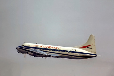 Allegheny Airlines, N8421H, Convair CV-440-97, msn 458, Photo by Photo Enrichments Collection, Image CV037LASP
