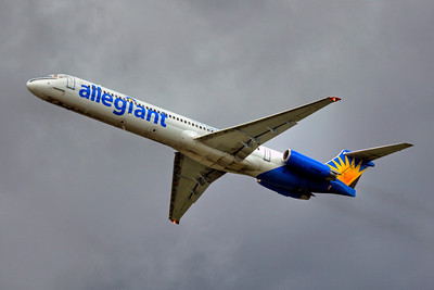 Allegiant Airlines, N414NV, McDonnell Douglas MD-88, msn 49766, Photo by John A. Miller, PIE, Image D032LAJM