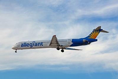 Allegiant Airlines, N884GA, McDonnell Douglas MD-83, msn 49401, Photo by John A. Miller, LAS, Image D046LAJM
