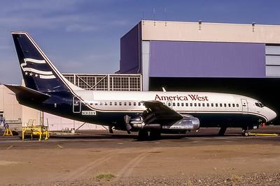 America West, N313XV, Boeing 737-204, msn 19712, Photo by Bob Shane, Image J035RGBS