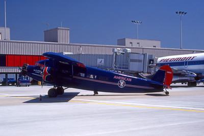 American Airlines, N11153, Stinson SM-6000-B, msn 5021, Photo by Frank Hines, ATL, Image CC01LGFH
