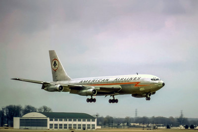 American Airlines, Boeing 707-023B, Photo by Photo Enrichments Collection, Image H019RASP