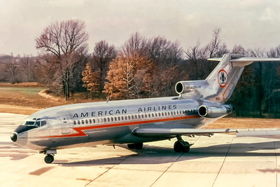 American Airlines, N1984, Boeing 727-23, msn 18440, Photo by Joe Fernandez Collection, Image I228LGJF