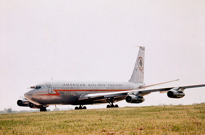 American Airlines Freight, Boeing 707-123B, Photo by Ed Sealy Jr, Image H015LGES