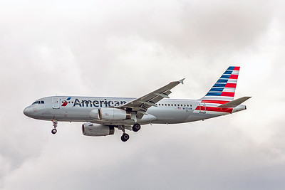 American Airlines, N653AW, Airbus A320-232, msn 1003, Photo by John A Miller, TPA, Image T123LAJM