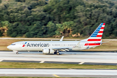 American Airlines, N811NN, Boeing 737-823(WL), msn 31079, Photo by John A Miller, TPA, Image UU064LGJM