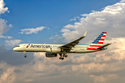 American Airlines, N193AN, Boeing 757-223(WL), msn 32387, Photo by John A Miller, MIA, Image N121LAJM