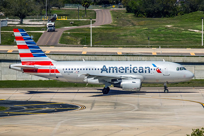 American Airlines, N702UW, Airbus A319-112, msn 896, Photo by John A Miller, TPA, Image AB025RGJM