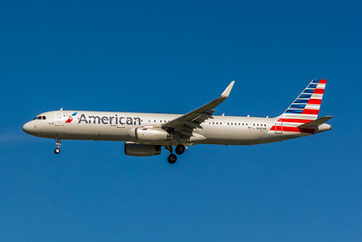 American Airlines, N145AN, Airbus A321-231(WL), msn 6783, Photo by John A Miller, LAX, Image  TA026LAJM