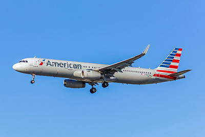 American AIrlines, N127AA, Airbus A321-231(WL), msn 6334, Photo by John A Miller, LAX, Image TA021LAJM