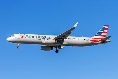 American Airlines, N101NN, Airbus A321-231(WL), msn 5834, Photo by John A Miller, LAX, Image TA017LAJM