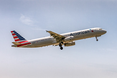 American Airlines, N921US, Airbus A321-231, msn 6523, Photo by John A Miller, TPA, Image TA023LAJM