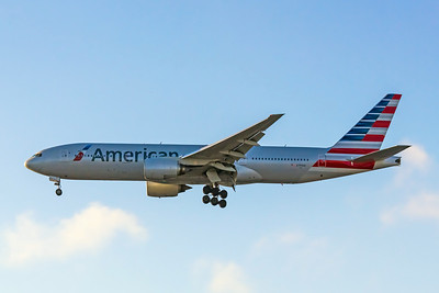 American Airlines, N793AN, Boeing 777-223(ER), msn 30255, Photo by John A Miller, LAX, Image PP015LAJM