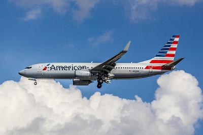American Airlines, N908NN, Boeing 737-823(WL), msn 31157, Photo by John A. Miller, TPA, Image UU024LAJM