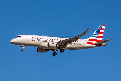 American Eagle (Compass Airlines), N215NN, ERJ-175LR, msn 17000511, Photo by John A Miller, LAX, Image YA027LAJM