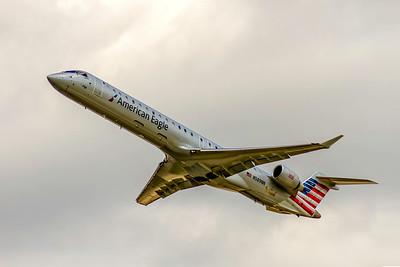American Eagle (PSA Airlines), N589NN, Canadair CL-600-2D24 Regional Jet CRJ-900LR, msn 15392, Photo by John A Miller, CLT, Image YF004LAJM
