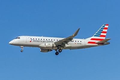 American Eagle (Compass Airlines), N211NN, ERJ-175LR, msn 17000501, Photo by John A Miller, LAX, Image YA011LAJM