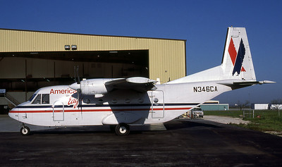 American Eagle, N346CA, CASA 212 aviocar 200 C-212-CC, msn 172, Photo by Photo Enrichments Collection, Image: AF004LGJC